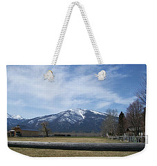 Beyond The Field Weekender Tote Bag by Jewel Hengen