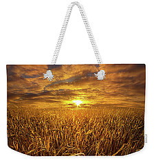 Beyond The Harvest Weekender Tote Bag by Phil Koch