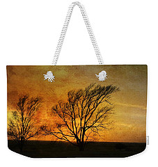 Weekender Tote Bag featuring the photograph Beyond The Horizon by Jan Amiss Photography