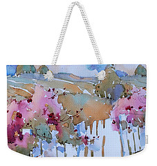 Beyond The Picket Fence Weekender Tote Bag