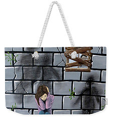 Beyond The Wall Weekender Tote Bag