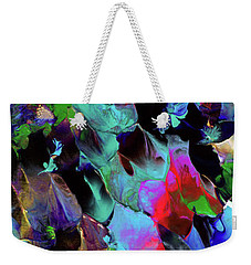 Beyond The Webbed Galaxy Weekender Tote Bag