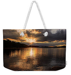 Weekender Tote Bag featuring the photograph Beyond Tomorrow by Rose-Marie Karlsen