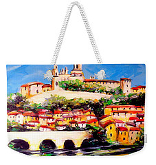 Beziers Reflections Weekender Tote Bag