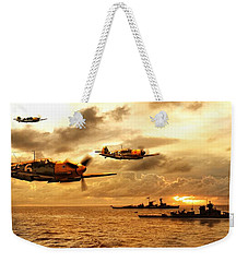 Bf 109 German Ww2 Weekender Tote Bag