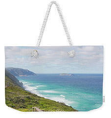 Weekender Tote Bag featuring the photograph Bibbulmun Track Albany Wind Farm by Ivy Ho