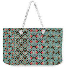 Bibi Khanum Ds Patterns No.1 Weekender Tote Bag