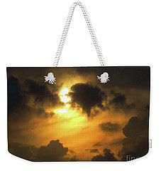 Biblical Sunset Weekender Tote Bag