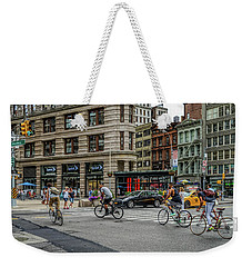 Bicycle Ballet  Weekender Tote Bag