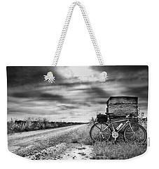 Bicycle Break Weekender Tote Bag