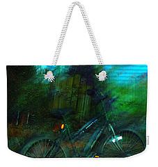 Bicycle Weekender Tote Bag