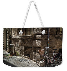 Bicycle In Rome, Italy Weekender Tote Bag