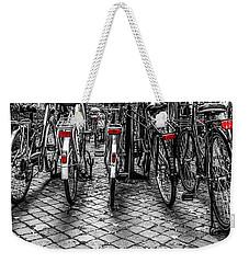 Bicycle Park Weekender Tote Bag