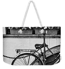 Bicycle With Flowers Weekender Tote Bag