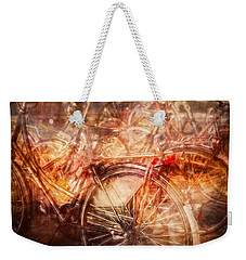 Bicycles In Amsterdam Weekender Tote Bag