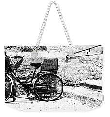 Bicyle In Cuitadella Weekender Tote Bag
