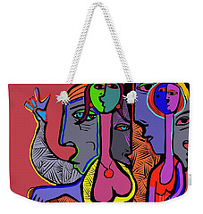Bidding Weekender Tote Bag