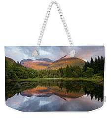 Bidean Nam Bian At Sunset Weekender Tote Bag