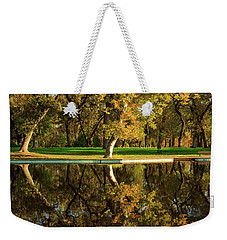 Bidwell Park Reflections Weekender Tote Bag