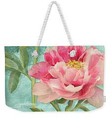 Bienvenue - Peony Garden Weekender Tote Bag