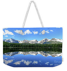 Bierstadt Lake In Rocky Mountain National Park Weekender Tote Bag by Ronda Kimbrow