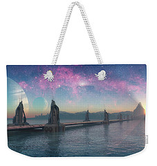 Bifrost Bridge Weekender Tote Bag