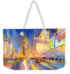 Big Apple Evening, No. 2 Weekender Tote Bag by Virgil Carter