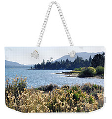 Big Bear Lake Shoreline Weekender Tote Bag