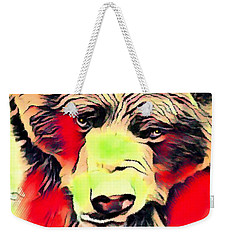 Big Bear Laying Down 1 Weekender Tote Bag