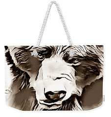 Big Bear Laying Down 2 Weekender Tote Bag
