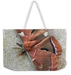 Big Beautiful Silk Moth Weekender Tote Bag