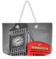 Weekender Tote Bag featuring the photograph Big Ben by Delphimages Photo Creations