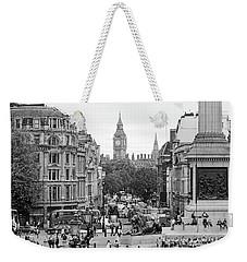 Weekender Tote Bag featuring the photograph Big Ben From Trafalgar Square by Joe Winkler