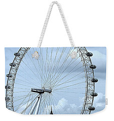 Big Ben Through The London Eye Weekender Tote Bag