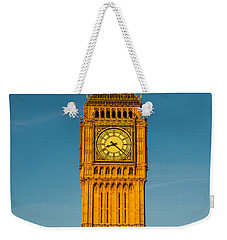 Big Ben Tower Golden Hour London Weekender Tote Bag