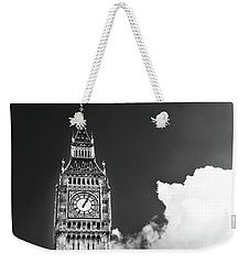 Big Ben With Cloud Weekender Tote Bag