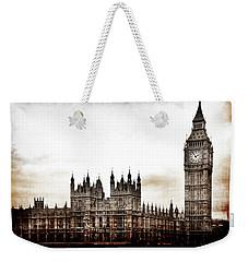Big Bend And The Palace Of Westminster Weekender Tote Bag