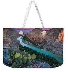 Big Bend Evening Weekender Tote Bag