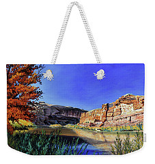 Big Bend On The Colorado Weekender Tote Bag