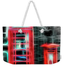 Weekender Tote Bag featuring the photograph Big Box Little Box by Scott Carruthers