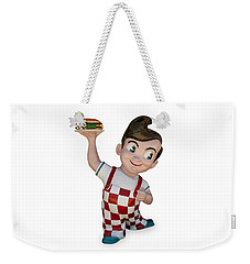 The Big Boy Weekender Tote Bag