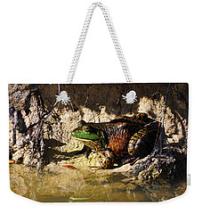 Weekender Tote Bag featuring the photograph Big Bud by Al Powell Photography USA
