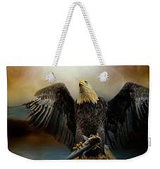 Big Catch Weekender Tote Bag by Jai Johnson