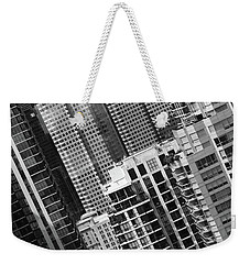 Big City Life Weekender Tote Bag by David Pantuso