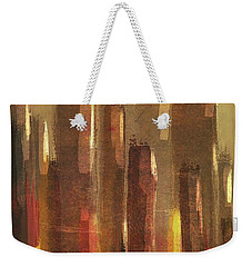 Big City Sunset Weekender Tote Bag