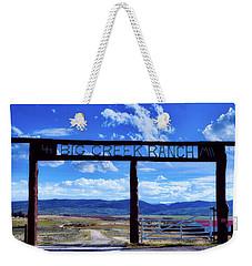 Big Creek Ranch Weekender Tote Bag by L O C