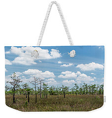 Weekender Tote Bag featuring the photograph Big Cypress Marshes by Jon Glaser