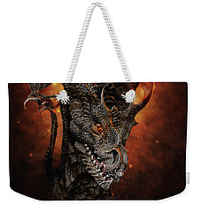 Big Dragon Weekender Tote Bag