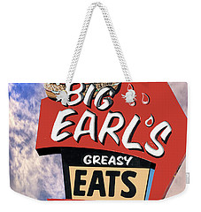 Weekender Tote Bag featuring the photograph Big Earls by Paul Wear
