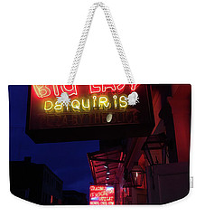 Big Easy Sign Weekender Tote Bag